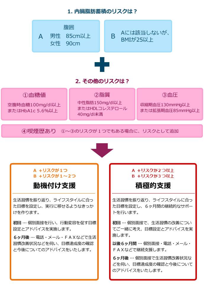 特定保健指導の分類